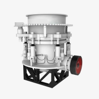 Buy cheap 30kw Limestone Granite Rock Cone Crusher 40t/H Production Capacity from wholesalers