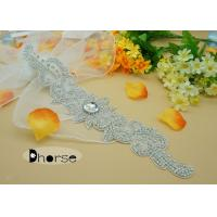 Crystal Rhinestone Beaded Applique Manufactures