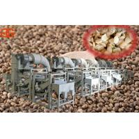 Wholesale Large capacity Hemp kernel shelling and sorting production line for sale hemp seeds shelling machine supplier from china suppliers