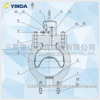 Wholesale BOMCO F800/1000 Mud Pump Dampener KB45 Pulsation Dampner For Drill Rig from china suppliers