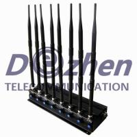 Buy cheap 8 Bands Adjustable Powerful Multi-functional 3G 4G Phone Blocker & Remote Controls Jammer (315/433/868MHz) from wholesalers