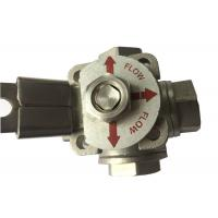 Buy cheap CF8M  Stainless Steel 3 way ball valve T type and L Type Flow Control from wholesalers