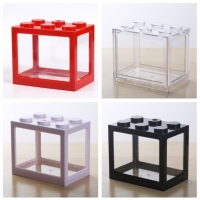 Buy cheap Hot sell new style home decorations small fish tank float glass fish tank aquarium from wholesalers