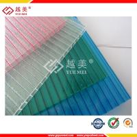 Buy cheap 3mm 4mm 8mm crystal polycarbonate twin-wall hollow sheet price from wholesalers