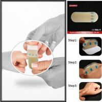 Buy cheap Porous Hydrocolloid Blister Plasters Sterile Toe Blister Pads For Heels from wholesalers