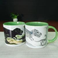 Buy cheap 11 oz Dinosaurs Color Changing Coffee Mug / Heat Changing Coffee Mug from wholesalers
