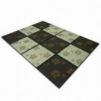Wholesale Mat/Rug, Available in Various Colors, Made of Bamboo, Measures 180 x 220 or 180 x 180cm from china suppliers