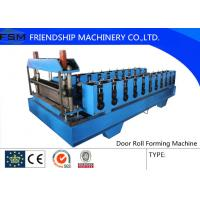1250 mm Width Metal Deck Roll Forming Machine PLC Control System Manufactures
