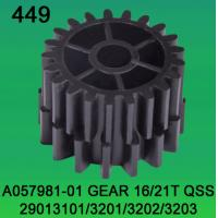 Buy cheap A057981-01 GEAR TEETH-16/21 FOR NORITSU qss2901,3101,3201,3202,3203 minilab from wholesalers