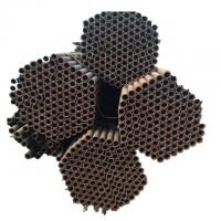 Buy cheap Factory Direct Supply Erw Black Seamless Welded Steel Pipe With Price from wholesalers