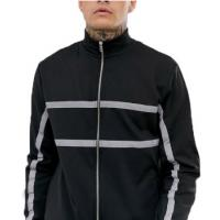 Buy cheap Customized Mens Reflective Bomber Jacket For Winter Waterproof Plus Size from wholesalers