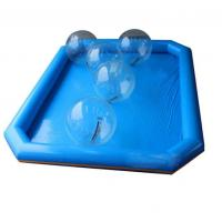 Buy cheap Blue Color Children's Blow Up Swimming Pools PVC Material For Summer Event from wholesalers