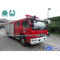 Buy cheap 25 CBM 4 Tons Dongfeng High Speed Fire Fighting Truck  With Fire Pumps product