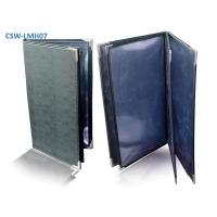 Buy cheap PU Leather Menu Cover from wholesalers