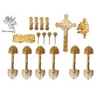 Buy cheap Pale Gold Funeral Plastic Coffin Handles African Style H9003 Customized from wholesalers
