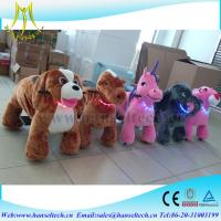 Hansel indoor kids amusement Walking Animal Rides Uesd Coin Operated Kiddie Ries For Sales Manufactures