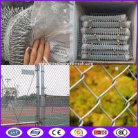 Buy cheap 50mm Cyclone Wire Mesh Chain Link Fencing made in China from wholesalers