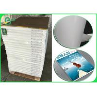 Buy cheap FSC Printing Paper 135gr Glossy Coated Couche Paper 42 Jumbo Roll from wholesalers