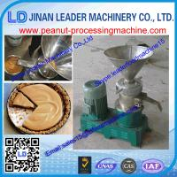 China Stainless steel peanut butter machine for food peanut butter making equipment on sale