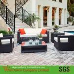 Buy cheap Hot Sale 4-PC Rattan Garden Furniture Sofa Set/Rattan Furniture/3-seater Rattan Sofa from wholesalers