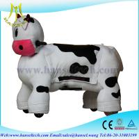 China Hansel Battery Operated Ride Animals Plush Animal Electric Scooter Stuffed Toys On Animals on sale