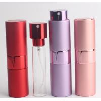 Buy cheap Cylinder Shape Travel Perfume Atomiser 5ml Aluminum  With Pump Sprayer from wholesalers
