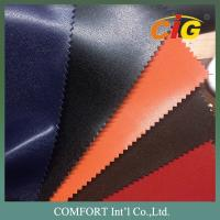 Buy cheap Shiny / Dull Surface Plain PVC Artificial Leather For Bags / Shoes / Furnitures from wholesalers