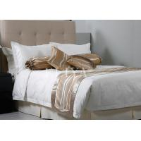 Buy cheap King Size Jacquard Luxury Hotel Bedding Sets / Duvet Cover Set Soft and Breathable from wholesalers