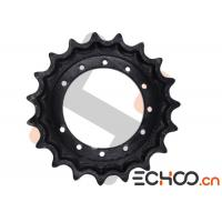 Buy cheap Kobelco SK50SR Black Mini Excavator Drive Sprockets With HRC52-56 Hardness from wholesalers