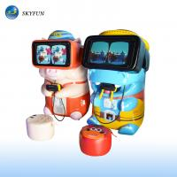 Wholesale Skyfun Pig & Hippo Children VR Game Machine With Touch Screen Cute Appearance from china suppliers