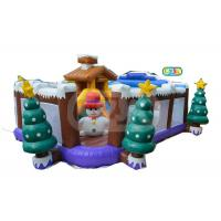 Buy cheap Small Funny Indoor Kid Inflatable Jumping Castle Christmas Inflatable Playground from wholesalers