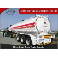 Buy cheap 3 axles fuel tanker trailer 40000 liters fuel Tanker trailer gasoline transport truck trailer from wholesalers