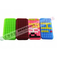 Wholesale New Creative Lego Block Design IPhone 4 Silicone Cases With Food Grade Material from china suppliers