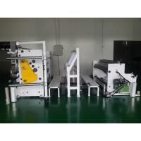 Buy cheap Industry Film Slitter Rewinder / Plastic Slitting Machine Steel Iron Material from wholesalers