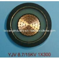 Buy cheap 8.7/15kv 300mm Single Core, XLPE Insulated, PVC Sheathed Power Cable (YJV) from wholesalers