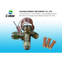 Buy cheap Thermostatic Expansion Air Conditioning  Valve Port Size 3 / 8 x 1/2 For Refrigerator from wholesalers