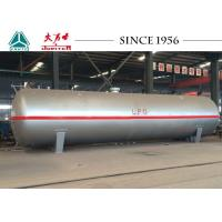 Buy cheap Liquid Petro Gas LPG Tank Trailer 45 CBM Capacity With Large Safety Factor from wholesalers