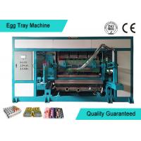 Buy cheap Powerful Automated Rotary Egg Tray / Fruit Tray Moulded Machine 4000pcs/h from wholesalers
