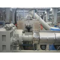 POM / PBT Recycle Plastic Granulating Machines , Dual-Stage Pellet Production Line Manufactures