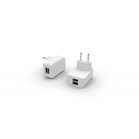 Buy cheap RoHS Twin Port 5V2.4A European USB Charger from wholesalers