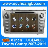 Buy cheap Wince 6.0 car Stereo Sat Nav for Toyota Camry 2007-2011 with auto radio gps double din DVD Player OCB-8006 from wholesalers