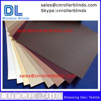 Buy cheap Plain Blackout Roller Blinds with match color from wholesalers