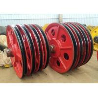 Buy cheap Wear Resistance Stainless Steel Wire Rope Sheaves , Wire Rope Pulley Wheels from wholesalers