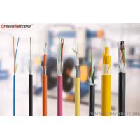 Buy cheap ADSS Optical Fiber Cable Single Mode G.652D Outdoor Fiber Optic Cable from wholesalers