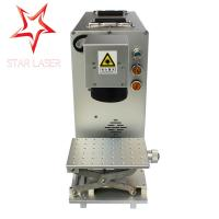 Buy cheap Non Metal Serial Number Engraving Machine , 30 W Fiber Laser Marking Machine from wholesalers