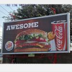 Buy cheap advertising aluminium light box rotating billboard from wholesalers