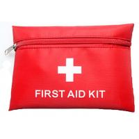 Wholesale Canvas First Aid Pouch Bags With Zipper Closure Promotion 11×16 cm from china suppliers