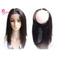Buy cheap 360 Lace Frontal Closure Straight Body Wave Kinky Straight Hair With Bundles from wholesalers