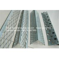 Buy cheap 50*50mm*2.7m Aluminium angle beads protecting mesh from wholesalers