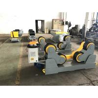 Buy cheap Self Aligning Pipe Welding Rollers / Tank Welding Equipment PU Wheel 10T from wholesalers